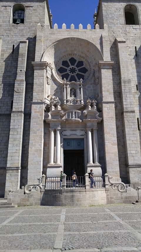 Kathedrale in Porto.
