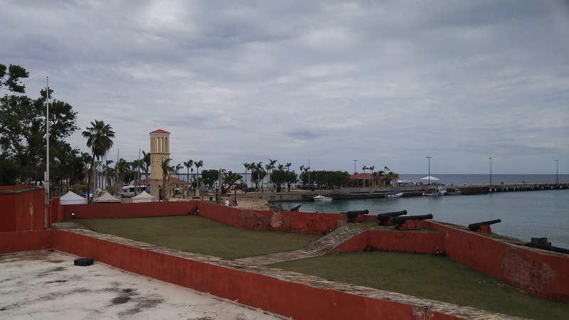 Frederiksted Festung.
