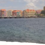 Willemstad vom Fort aus.